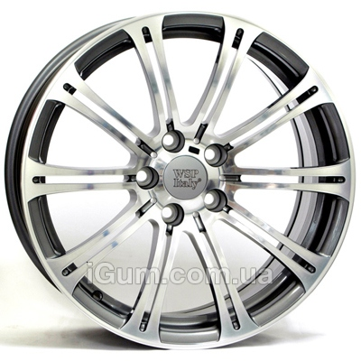Диски WSP Italy BMW (W670) M3 Luxor 8,5x20 5x120 ET12 DIA72,6 (anthracite polished)