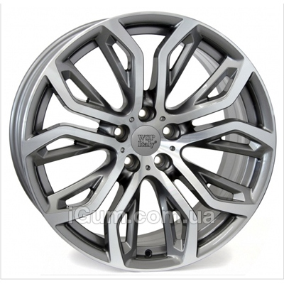 Диски WSP Italy BMW (W676) Everest 10x20 5x120 ET40 DIA74,1 (anthracite polished)