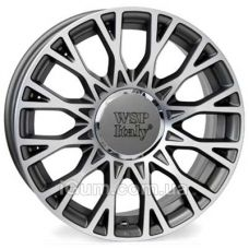Диски WSP Italy Fiat (W162) Grase 6x15 5x98 ET39 DIA58,1 (anthracite polished)