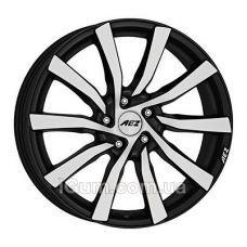 Диски R17 5x108 Aez Reef 7,5x17 5x108 ET45 DIA70,1 (matt black polished)