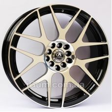 Диски R18 5x114,3 Alexrims AFC-3 (forged) 8x18 5x114,3 ET42 DIA67,1 (polished surface + black inside)