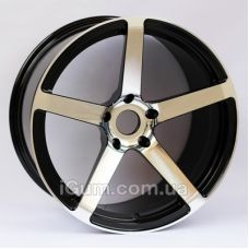 Диски R19 5x120 Alexrims AOZ01-PCM13 (forged) 8,5x19 5x120 ET20 DIA74,1 (black/cotting finish)
