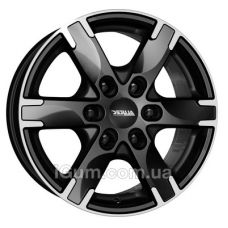 Диски R16 6x130 Alutec Titan 7x16 6x130 ET55 DIA84,1 (diamond black front polished)