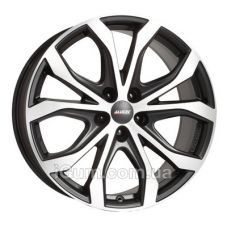 Диски R19 5x120 Alutec W10 8,5x19 5x120 ET40 DIA74,1 (racing black front polished)