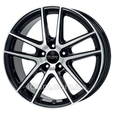 Диски Anzio Split 8x18 5x114,3 ET45 DIA70,1 (black polished)