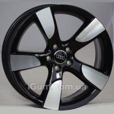 Диски R19 5x112 Audi OEM 8K0071499 8,5x19 5x112 ET43 DIA66,6 (black polished)
