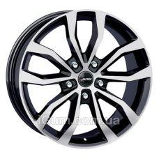 Диски Autec Uteca 8x18 5x130 ET48 DIA71,6 (black polished)