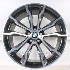 Диски BMW OEM 8010268 8x20 5x112 ET27 DIA66,6 (anthracite polished)