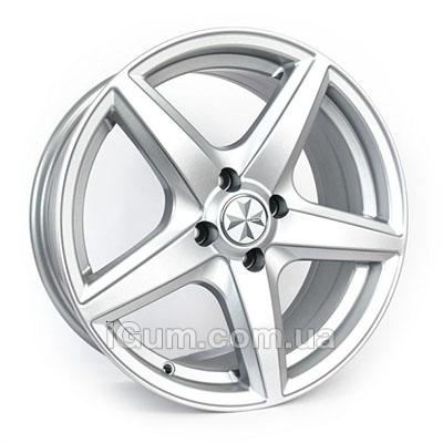 Диски Banzai L335 6x14 4x98 ET35 DIA58,6 (silver)