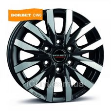 Диски R16 6x130 Borbet CW6 6,5x16 6x130 ET62 DIA84,1 (matt black polished)