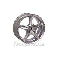 Диски DJ 329 7x15 5x100 ET35 DIA72,6 (silver)