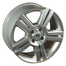 Диски R15 DJ 385 6,5x15 5x100 ET35 DIA72,6 (silver)