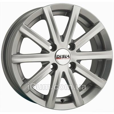 Диски Disla Baretta 6x14 5x100 ET37 DIA57,1 (silver)