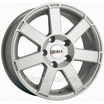 Диски Disla Hornet 6,5x15 4x100 ET35 DIA67,1 (silver)