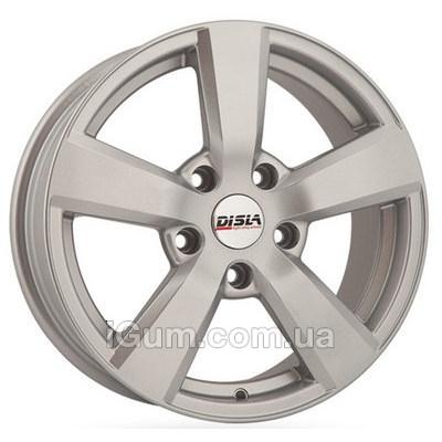 Диски Disla Formula 7x16 5x100 ET38 DIA67,1 (silver)