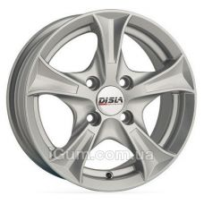 Диски R14 4x108 Disla Luxury 6x14 4x108 ET37 DIA67,1 (silver)