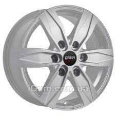 Диски R16 6x130 Disla Vanline 6 7x16 6x130 ET55 DIA84,1 (silver)
