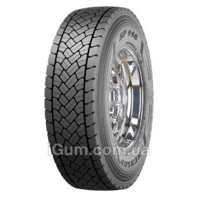 Шины Dunlop SP 446 (ведущая) 295/80 R22,5 152/148M