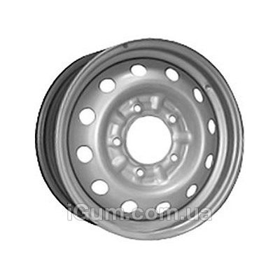 Диски Евродиск 64G48L 6x15 5x139,7 ET48 DIA98,6 (silver)