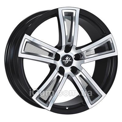 Диски Fondmetal Tech 6 7,5x17 5x112 ET35 DIA57,1 (black polished)