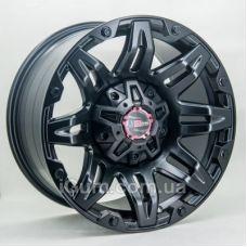 Диски R17 6x139,7 GT 895 9x17 6x139,7 ET0 DIA108,1 (matt black)