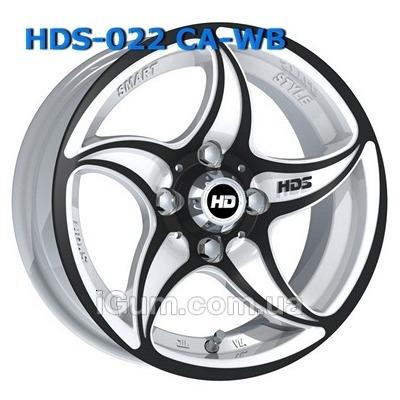Диски HDS 022 5,5x13 4x98 ET12 DIA58,6 (CA-WB)