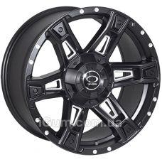 Диски JH Dark12 9x18 6x139,7 ET12 DIA106,1 (matt black)