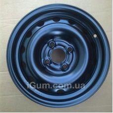 Диски R15 4x100 Кременчуг К220 (Chevrolet) 6x15 4x100 ET45 DIA56,6 (black)