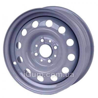 Диски Кременчуг ВАЗ 2110 5x14 4x98 ET35 DIA58,6 (серый)