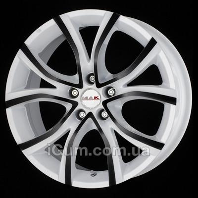 Диски Mak Nitro 5 7,5x17 5x108 ET45 DIA72 (anod white black)