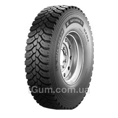 Шины Michelin X Works XDY (ведущая) 315/80 R22,5 156/150K