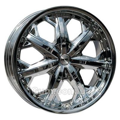 Диски Racing Wheels H-378 8,5x20 5x130 ET45 DIA71,6 (chrome)