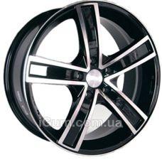 Диски Racing Wheels H-412 6,5x15 5x105 ET39 DIA56,6 (BKFP)