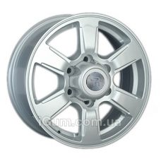 Диски Replay Ford (FD67) 7x16 6x139,7 ET55 DIA93,1 (silver)