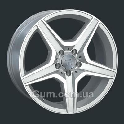 Диски Replay Mercedes (MR75) 7x15 5x112 ET37 DIA66,6 (silver)