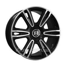 Шины Replica Bentley (BN877) 9,5x21 5x112 ET41 DIA57,1 (BKF)