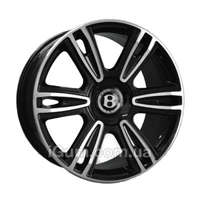 Диски Replica Bentley (BN877) 9,5x21 5x112 ET41 DIA57,1 (BKF)