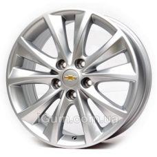 Диски Replica Chevrolet (RX441) 7x17 5x115 ET41 DIA70,1 (silver)
