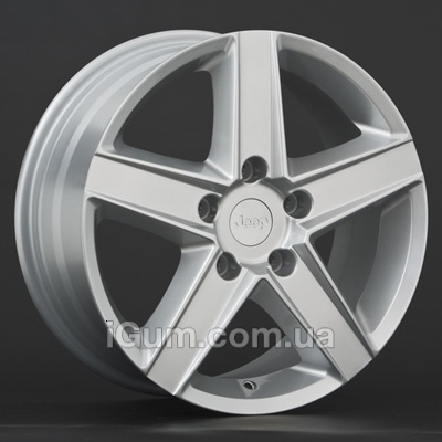 Диски Replica Chrysler (CR5) 7x16 5x114,3 ET41,3 DIA71,4 (silver)