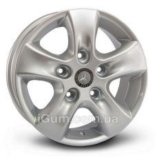 Диски R15 5x130 Replica Hyundai (JT1036) 6,5x15 5x130 ET45 DIA84,1 (silver)