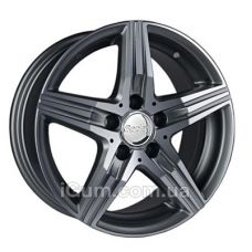 Диски R20 5x112 Replica Mercedes (MR111) 8,5x20 5x112 ET35 DIA66,6 (black machined face)