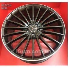 Шины Replica Mercedes (MR252) 10x21 5x112 ET46 DIA66,6 (MBL)