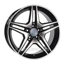 Диски R20 5x112 Replica Mercedes (MR96) 8,5x20 5x112 ET35 DIA66,6 (gloss black machined face)