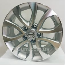 Диски Replica Nissan (CT2204) 6,5x16 5x114,3 ET45 DIA67,1 (SMF)