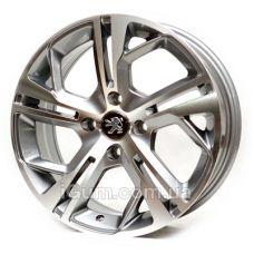Диски Replica Peugeot (RS525) 6,5x15 4x108 ET18 DIA65,1 (MG)