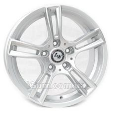 Шины Replica R6505 7x16 5x112 ET45 DIA73,1 (silver)