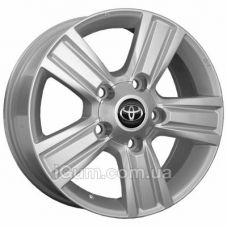 Диски Replica Toyota (CT5525) 8,5x20 5x150 ET60 DIA110,1 (HS)