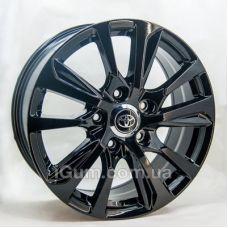 Диски R20 5x150 Replica Toyota (GT202071) 8,5x20 5x150 ET60 DIA110,1 (black)