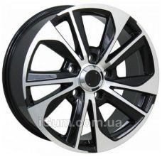 Диски R20 5x150 Replica Toyota (TY2060) 8,5x20 5x150 ET58 DIA110,1 (black machined face)