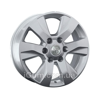 Диски Replica Toyota (TY244) 7,5x17 6x139,7 ET30 DIA106,1 (hyper silver)